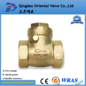 Brass Foot Valve 1 2 Inch Brass Check Valve pictures & photos
