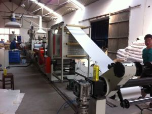 PVC Edge Band Sheet Extrusion Line pictures & photos