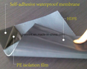Polyester Reinforcement Asphalt Membrane with ISO, Ce Certificate for Flat Roof pictures & photos