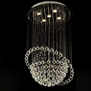 Greative Planet Crystal Ball Chandelier for Decoration pictures & photos