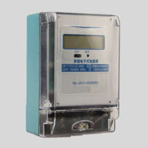 220V Simple Electronic Power/Energy Meter (DDS155G) pictures & photos
