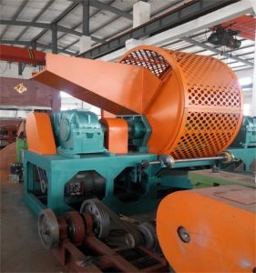 Tire Cutting Machinery/Waste Tyre Shredding Equipment/Rubber Tire Recycling Plant pictures & photos