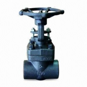A105 Forged Steel High Pressure Gate Valve pictures & photos