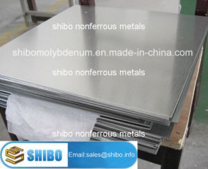 Cold Rolled Molybdenum Plates and Sheets pictures & photos