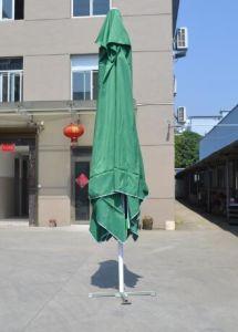 4X4m Hand Push up Umbrella Garden Umbrella Sun Umbrella Big Umbrella pictures & photos