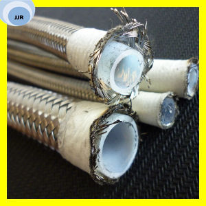 R14 Teflon Hose Steel Wire Braided Covered PTFE Hose pictures & photos