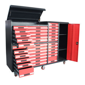 Heavy Duty Garage Workshop Drawer Tool Trolley for Sale pictures & photos