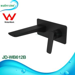 Sanitary Fitting Black Concealed Bathroom Sink Faucet pictures & photos