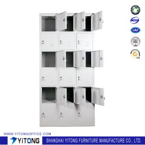 Yitong 18-Door Metal Storage Cabinet / Office Use Steel Locker pictures & photos