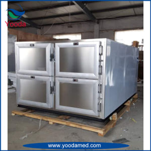 Six Bodies Funeral Mortuary Refrigerator for Dead Bodies pictures & photos