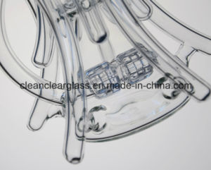 Wholesale Ccg Self-Branded Creative Glass Water Pipe Glass Recycler with Double Tyre Perc pictures & photos