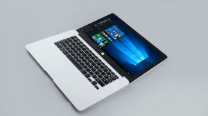 14.1 Inch Notebook Computer Intel Atom 2g+32g Laptop pictures & photos