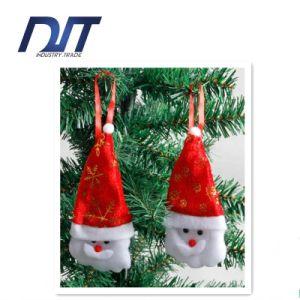 Christmas Decorations Elderly Pendant Red Flannel Santa Claus Head Ornaments pictures & photos