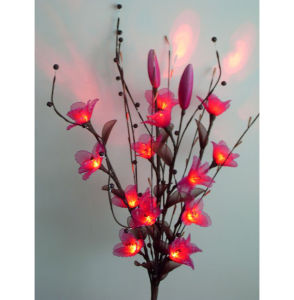 Top Quality OEM Design LED Artificial Flower pictures & photos