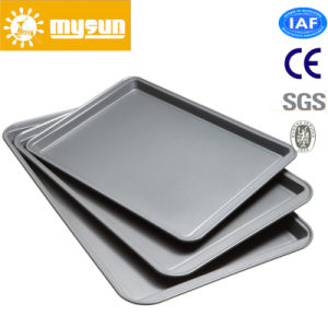 Bakery Accessories Aluminum Alloy Flat Bun and Cake Pan