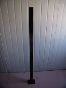 1300mm Long Aluminuim Pool Fencing Post with Flange pictures & photos