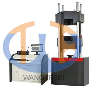 Electrically Operated Compression Electronic Universal Material Tensile Testing Machine pictures & photos