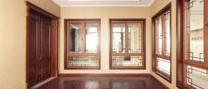 Aluminum Compouding Larch Wood, Composite Windows