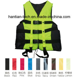 Foam Lifejacket Fishing Tackle for Lifesaving with CE Appproved (HT112) pictures & photos