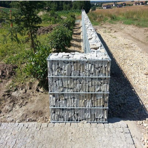 Gabion Retaining Wall Welded Gabion Cage Gabion Containment pictures & photos