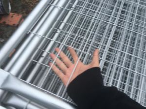 2100mm X 2400mm Temporary Fencing Panels Od 32mm Pipes and 42 Microns Zinc pictures & photos