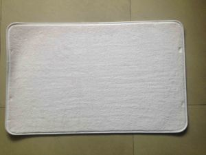 Sublimatable Blank Memory Foam Floor Mat pictures & photos