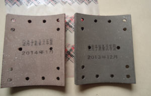 Wg9231342068 HOWO14holes Brake Lining pictures & photos