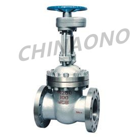 Electric Gate Valve with Spur Gear High-Pressure with Flange pictures & photos