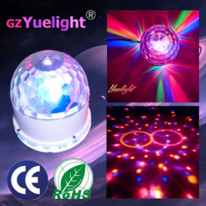 7CH DMX512 LED Remote Control Music USB Disco Magic Crystalball Stage Light pictures & photos