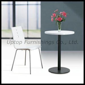 Elegant White Round Cafe Table and Chair (SP-RT261) pictures & photos