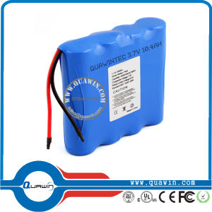 1s4p 18650 3.7V 10400mAh Li-ion Battery Pack pictures & photos