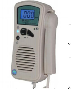 Fetal Doppler with Blue Backlight LCD Display pictures & photos