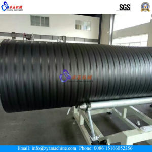 HDPE Hollow Wall Twined Spiral Pipe Production Line/ Coiled Pipe Extrusion Line pictures & photos