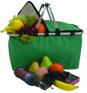 Collapsible Shopping Basket with Cooler Bag pictures & photos