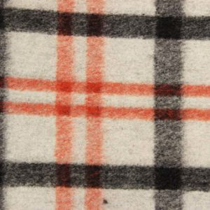 Tartan Jacquard Wool Knitted Fabric for Women Clothes