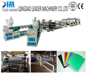 PP/PE/PS/PVC Plastic Sheet Extrusion Production Line pictures & photos