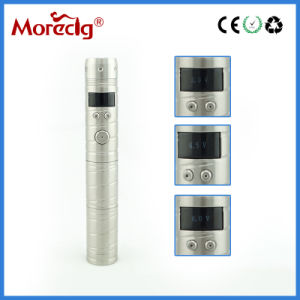 2013 Super Large Vapor Vaporizer VV Mod, Black Chrome Vamo V3 Variable Voltage E Cig Kit