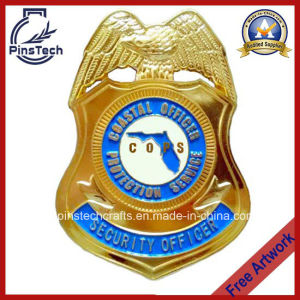 Cops Security Officer Badge, Coastal Officer Protection Service Badge pictures & photos