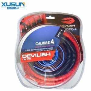 Transparent Corlorful Flex Audio Cable