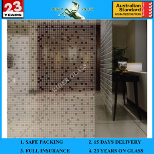 3-6mm Customized Am-73 Decorative Acid Etched Frosted Art Architectural Mirror pictures & photos