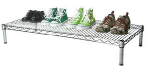 Chrome Modern Metal Iron Shoe Stand Rack for Home (LD904520A1C) pictures & photos