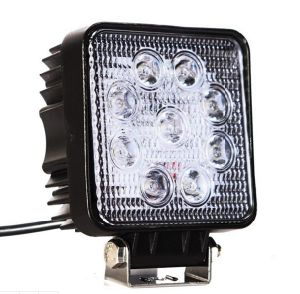 "4.8"" 27W Square Flood LED Work Light pictures & photos"