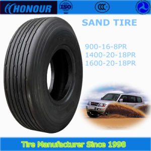 Sand Tire 1400-20 in Truck Tire Bias Nylon Tire pictures & photos