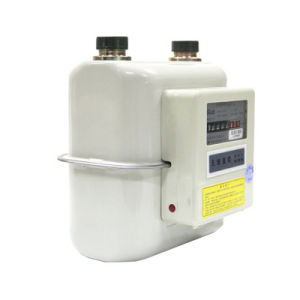 Ordinary Steel Case Diaphragm LPG Gas Meter pictures & photos