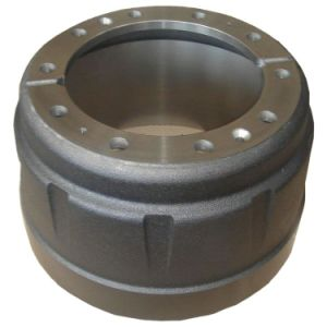 English Type Truck Axle Spare Part 10 Holes Brake Drum pictures & photos