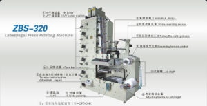 Adhesive Label (logo) Printing Machinery Flexo Printer pictures & photos