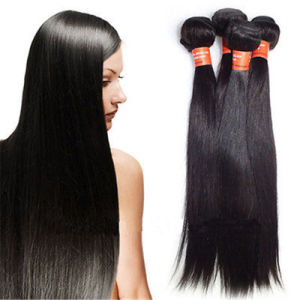 8A Virgin Unprocessed Brazilian Human Hair Weaving pictures & photos