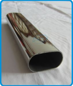 Stainless Steel Flat Sided Oval Tubes (Pipes)