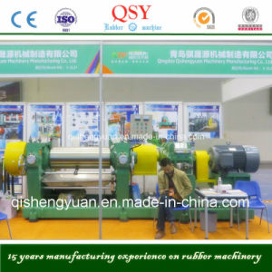 Xk-450 Two Roll Rubber Machine/ Rubber Sheet Production Machinery pictures & photos