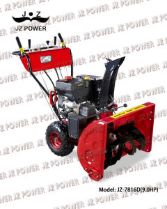 Snow Blower/ Snow Thrower 9.0HP with Tyre (JZ-7816D)